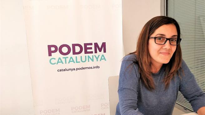 """Conchi Abellán: """"Ha guanyat Podem Catalunya i ha guanyat En Comú Podem"""""""
