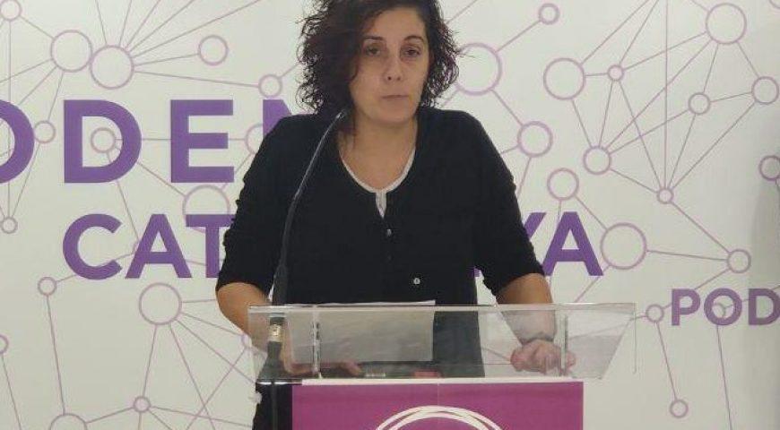 """Conchi Abellán: """"El Govern no està representant els anhels i les esperances de la majoria d'aquest país"""""""