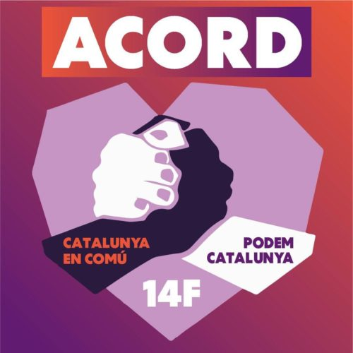 Podem Catalunya i Catalunya en Comú reediten l'acord per anar junts a les eleccions del 14F