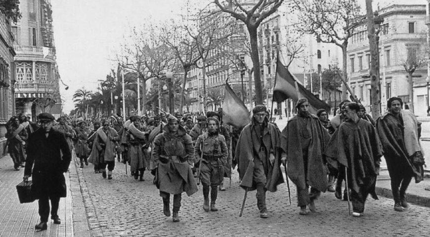 Ocupació Barcelona per tropes franquistes