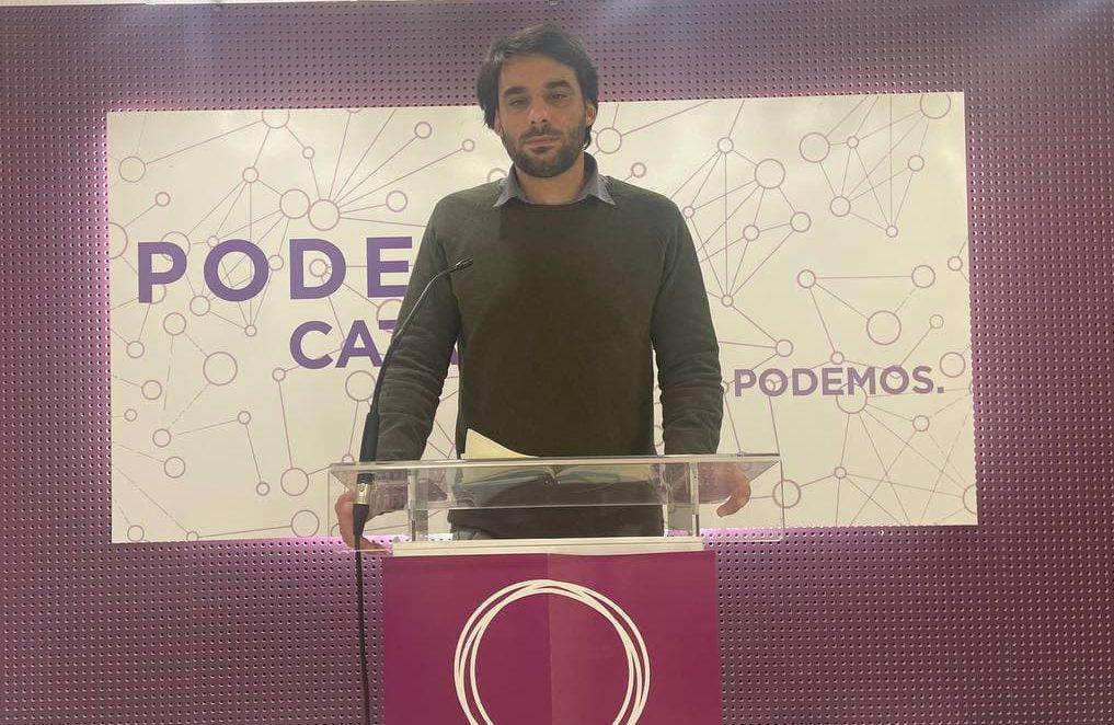 """Lucas Ferro: """"ERC ha renunciat a la via àmplia a la primera votació"""""""