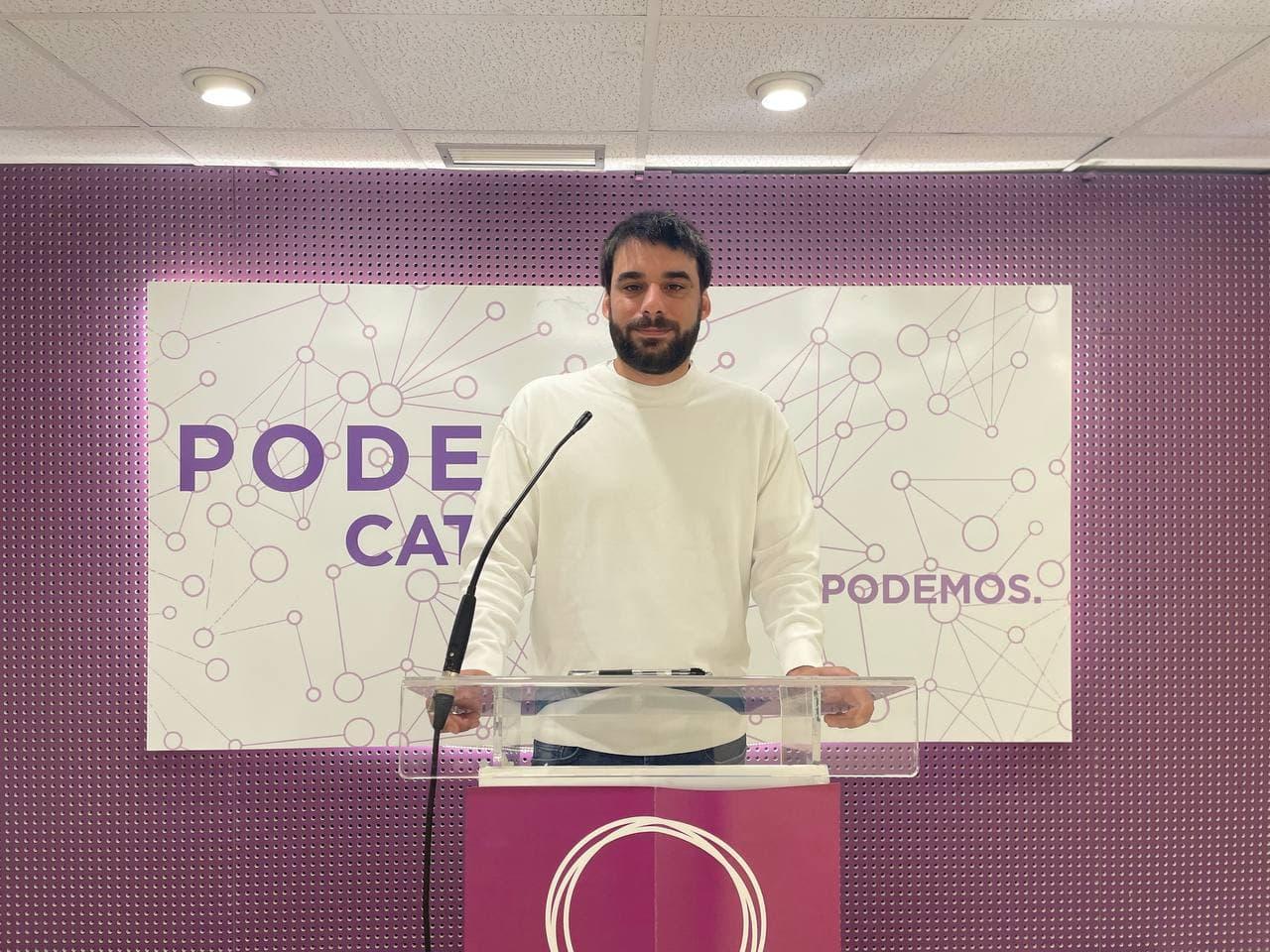 "Lucas Ferro: ""Ni via àmplia ni gir a l'esquerra: sempre que trien, ERC i la CUP aposten per reeditar un Govern fallit"""