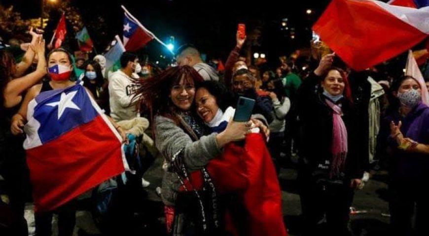 PODEMOS CELEBRA EL AVANCE DE LAS CANDIDATURAS PROGRESISTAS YDE IZQUIERDAS EN #CHILE